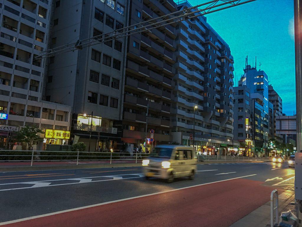 東新宿、大久保の近く