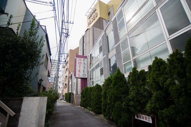 東中野のホテル