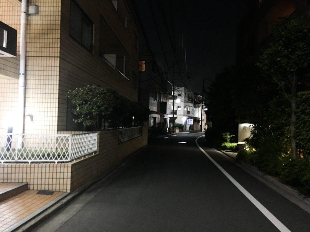 仙川住宅街