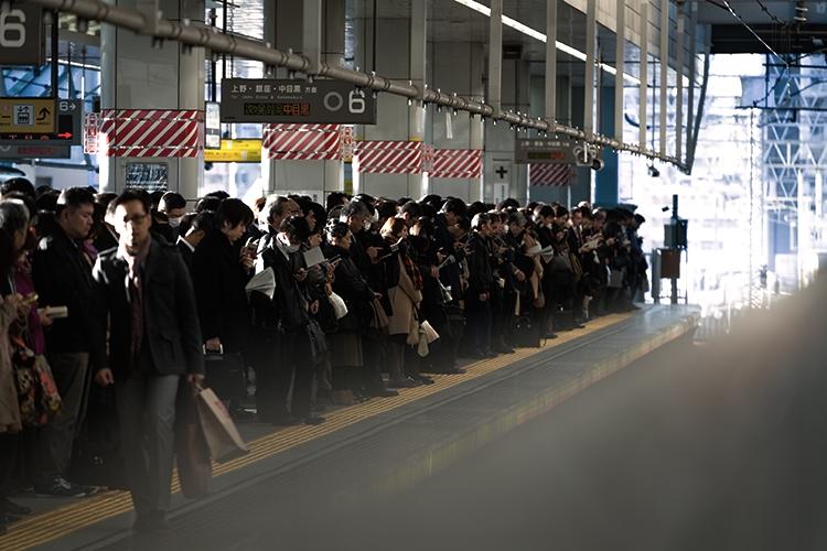 電車の混雑