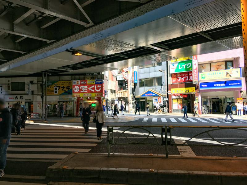 神田の風景