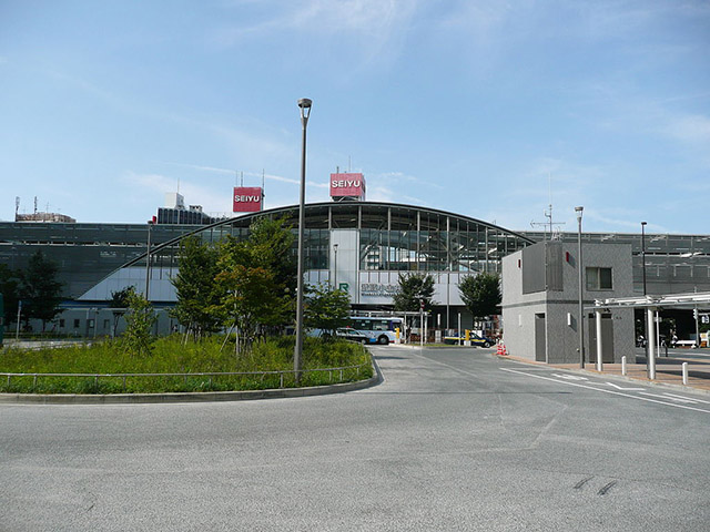 武蔵小金井の風景