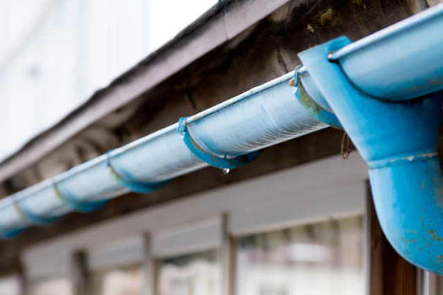 雨と住宅イメージ