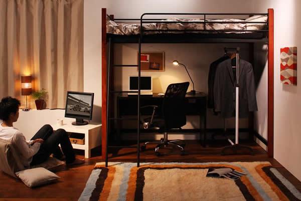 2段ベッド活用部屋