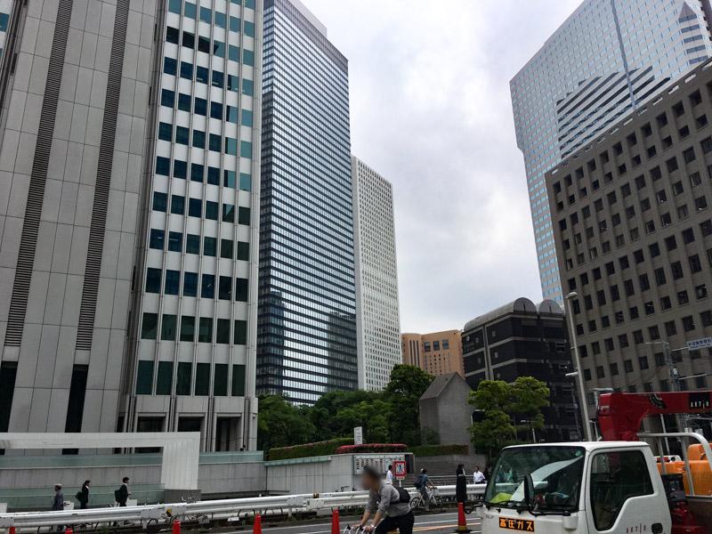 西新宿の風景