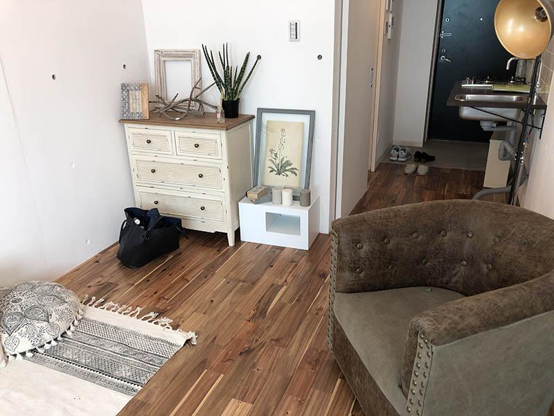 綺麗な居室