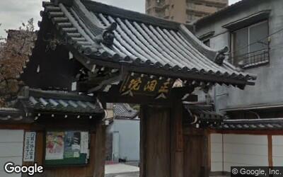 入谷駅西側の住宅街