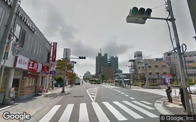 一之江駅前の風景