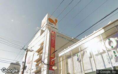 松戸駅付近のダイエー
