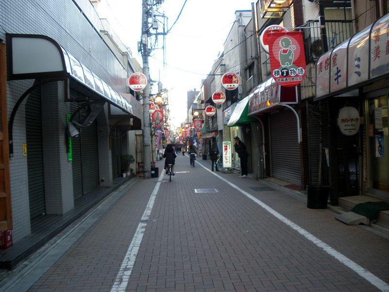 江戸川橋の地蔵通り商店街