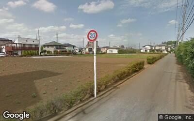 西国分寺駅近くの畑