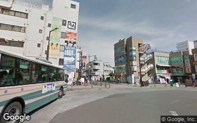 花小金井駅北口側の駅前