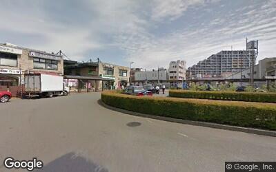 花小金井駅南口側の駅前