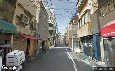 浅草橋駅西口の住宅街
