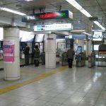 南砂町駅構内