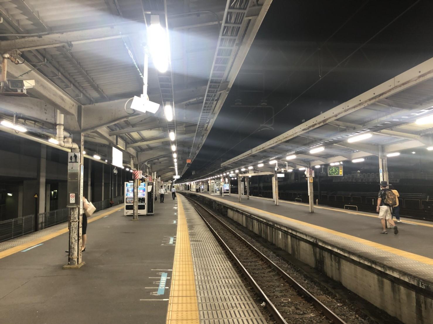 東十条駅ホーム