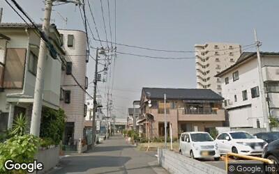 八潮駅北口の住宅街