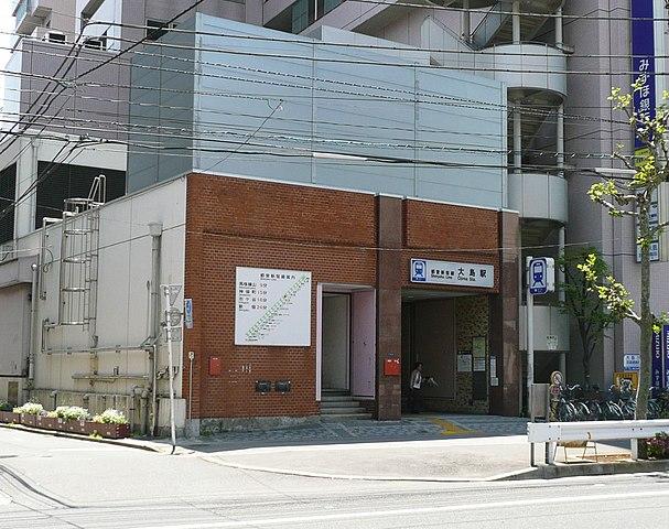 大島駅の風景
