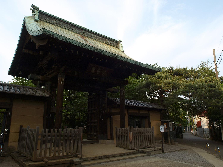 豪徳寺の風景