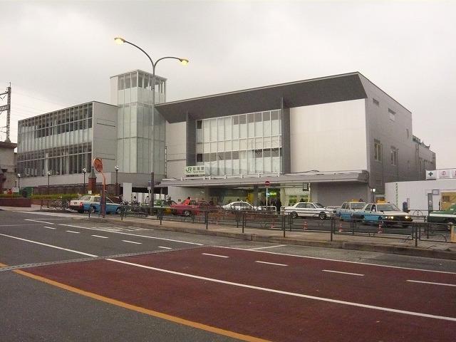 田端駅の様子