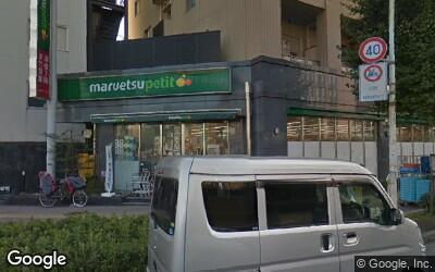 護国寺駅前のスーパー