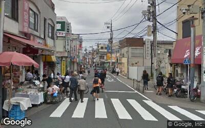 北側の商店街