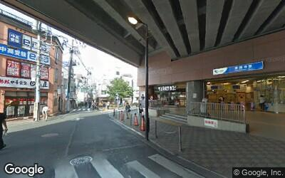 豪徳寺駅前