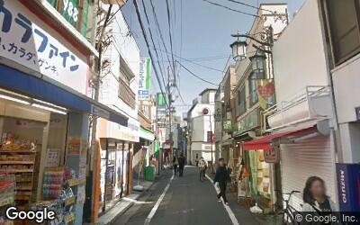 豪徳寺駅北側の街並み