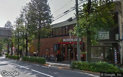 旧白山通り沿いの飲食店