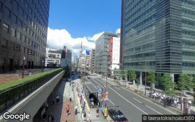浜松町駅東側