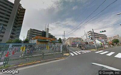 氷川台駅前