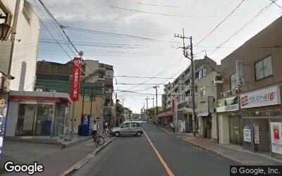 氷川台駅前の銀行