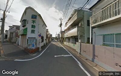氷川台駅周辺の住宅街