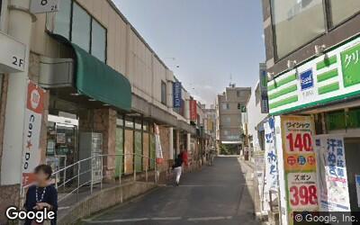 生田駅北口前