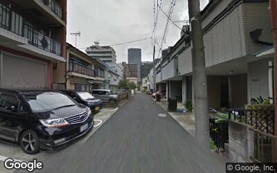 川崎駅西口住宅街