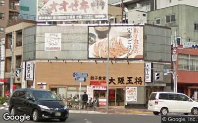 菊川駅前の飲食店