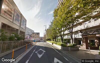 北綾瀬駅北側の住宅街