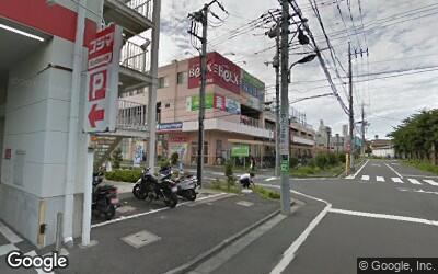 北綾瀬駅北側の買い物施設