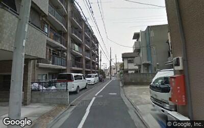 北綾瀬駅南側の住宅街