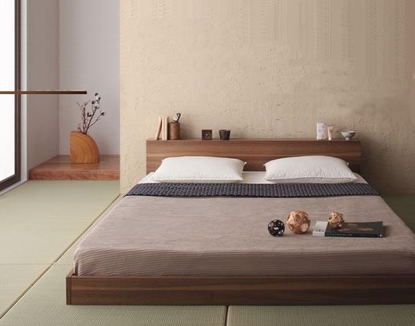 和室を寝室として使う例