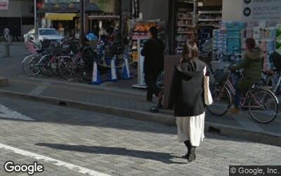 本八幡駅南口側の自転車