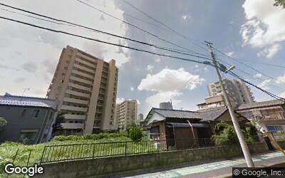 東側の住宅街
