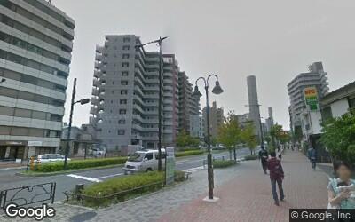 中井駅西側