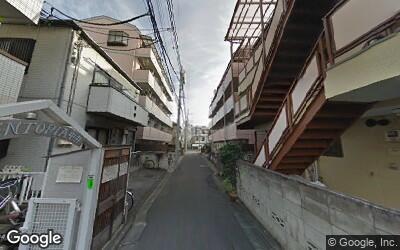 中井駅東側