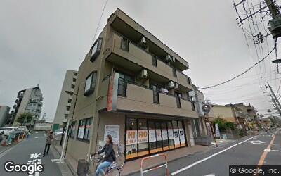 西新井駅東側の住宅街