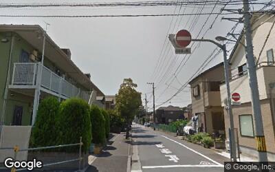 篠崎駅南側の住宅街