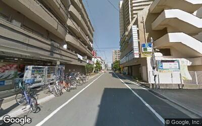 篠崎駅北側の街並み
