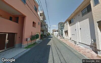 篠崎駅北側の住宅街