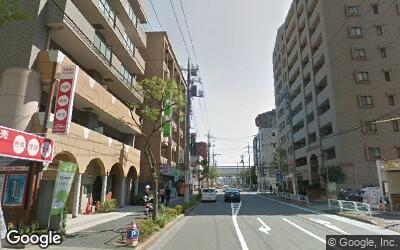 篠崎駅南側の街並み