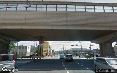 篠崎駅の南側の街並み